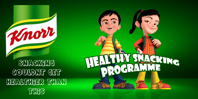 Knorr's Healthy Snacking Program, Phase II Initiated