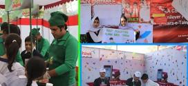 Idara-e-Taleem-o-Aagahi exhibiting CSR activities at Children Literature Festival 2012 – Peshawar