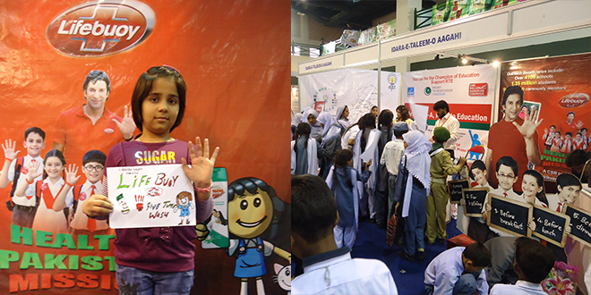 Healthy Pakistan Mission exhibited at KidzXpo 2012